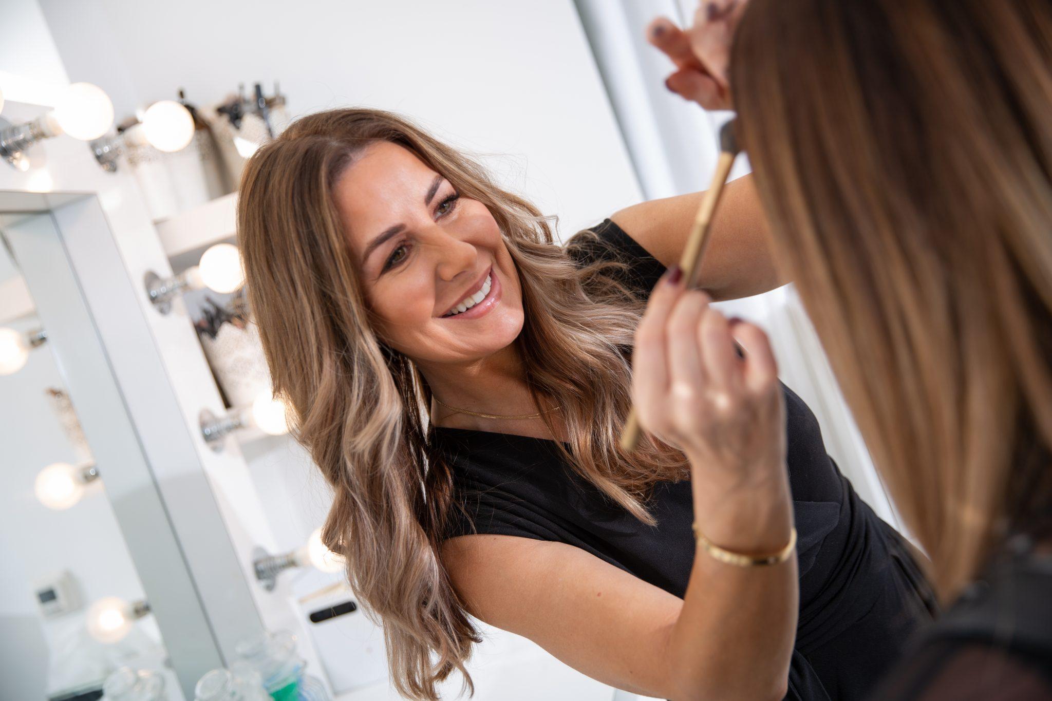 makeup artist morley
